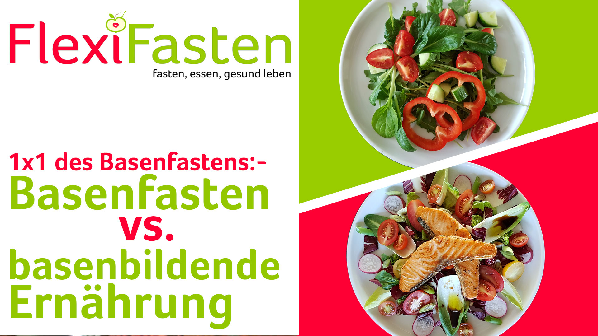 Basen fasting vs base-binding nutrition - comparison